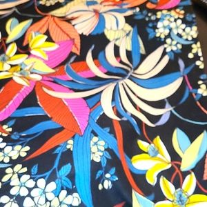 New Sewing Fabric Floral Alexander Henry RIO